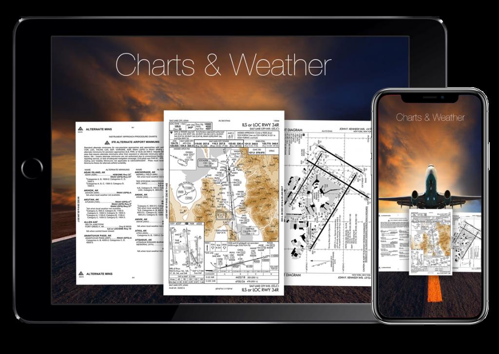 flygo aviation us efb charts weather planning