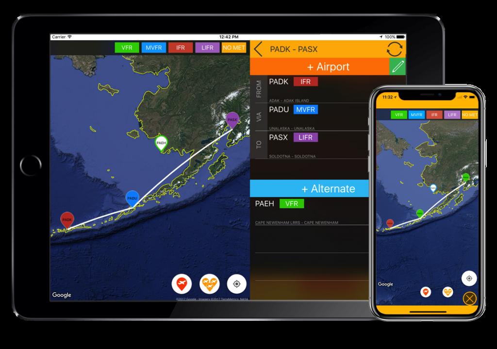 flygo aviation us efb charts iphone ipad airport information