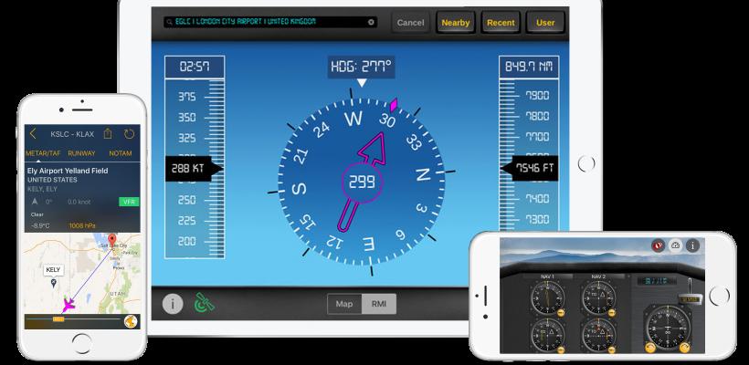 flygo aviation apps ipad iphone smartphone