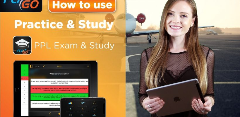flygo ppl exam study app pilot practice introduction video education how to use