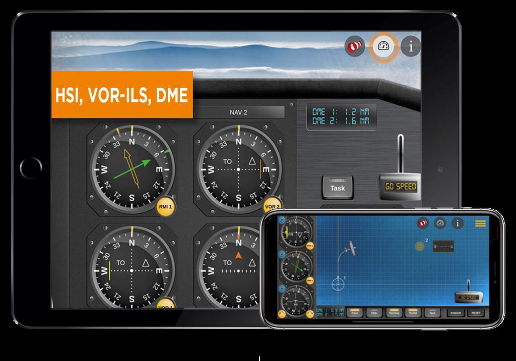 IFR Flight Trainer Simulator app for iPhone, iPad   FlyGo