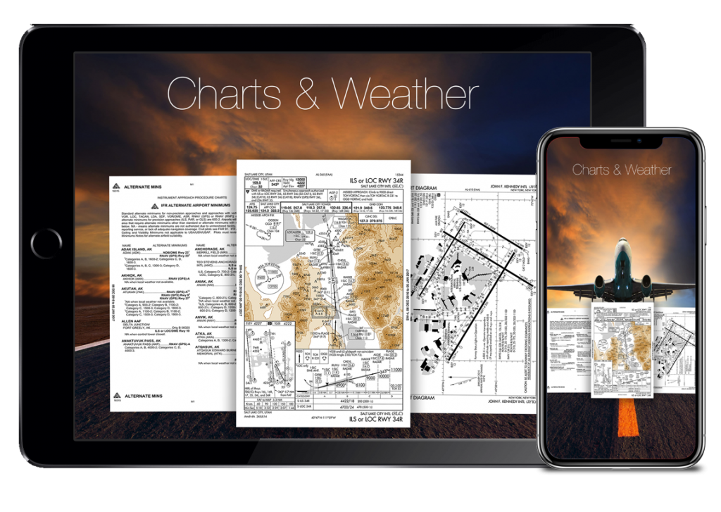 flygo aviation us efb charts weather planning