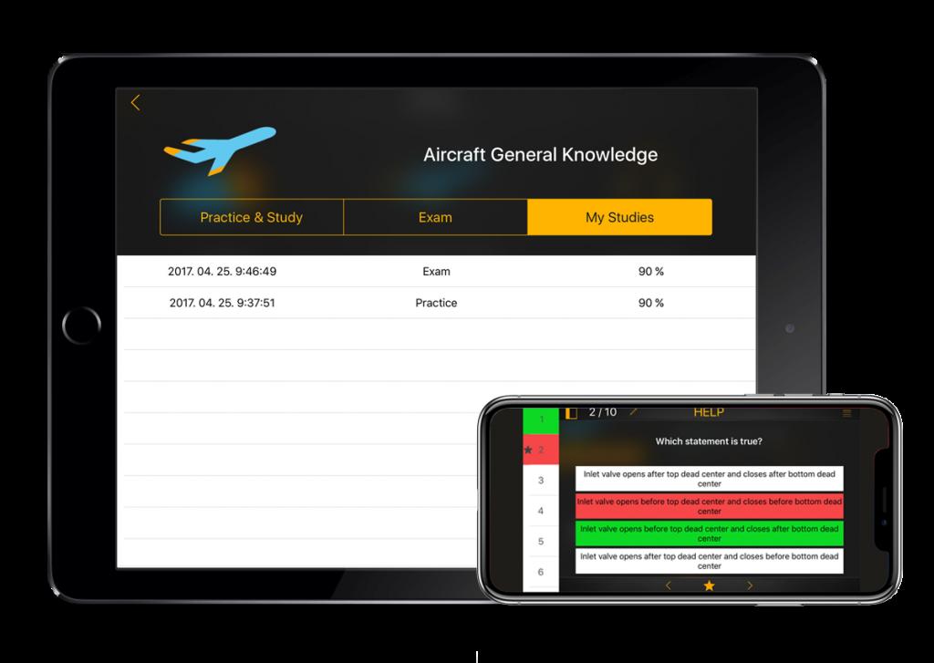 PPL Exam & Study for iPhone, iPad | FlyGo-Aviation Ltd