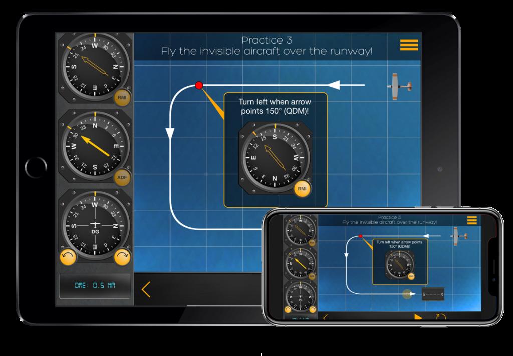 flygo pilot trainer ifr best simulator iphone ipad