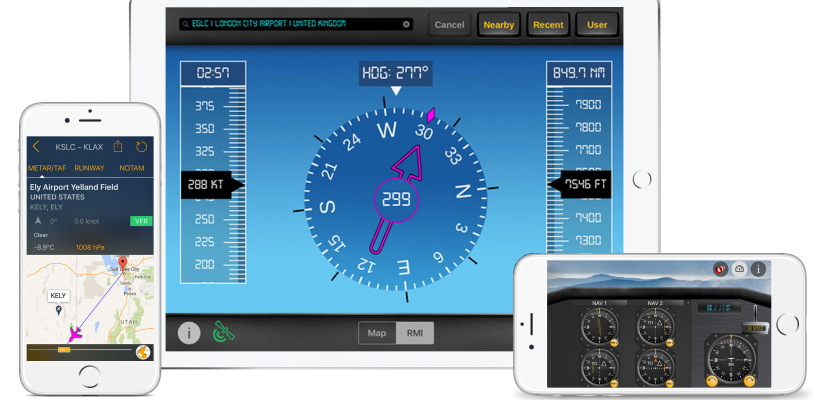 flygo aviation apps ipad iphone smartphone