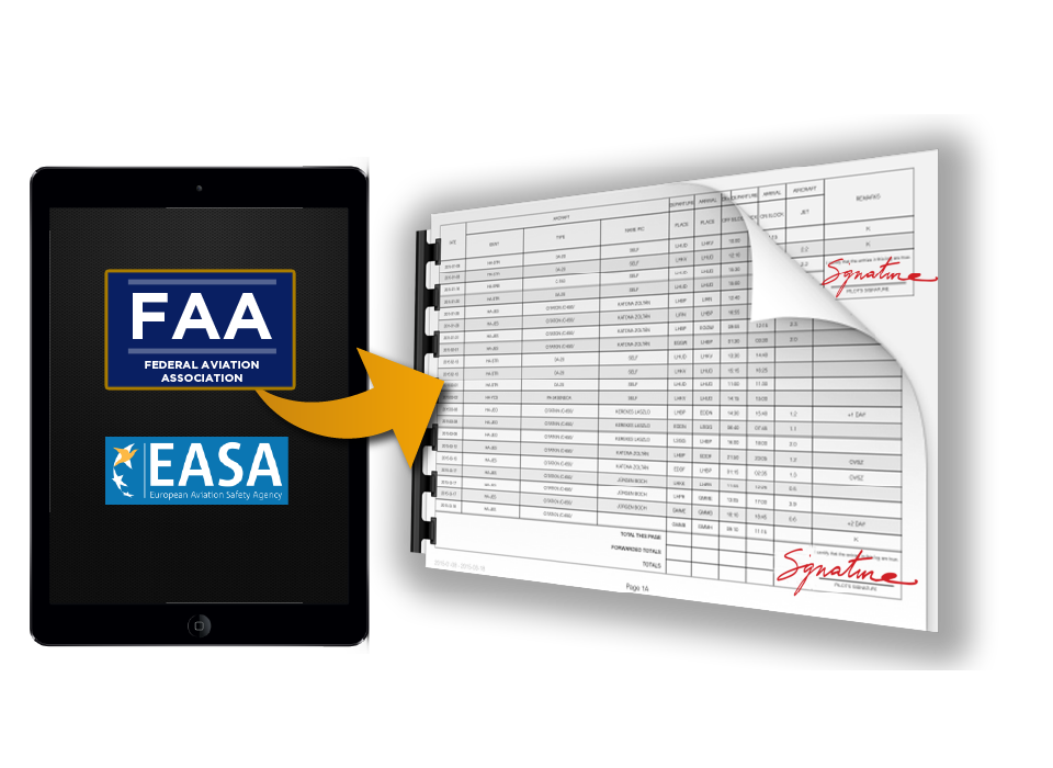 ppl pilot logbook international app faa easa pilots