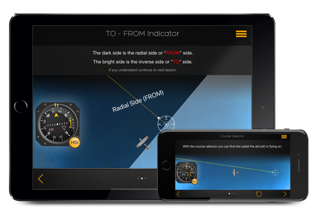 flygo pilot ifr trainer all in 1 app indicator plane from to