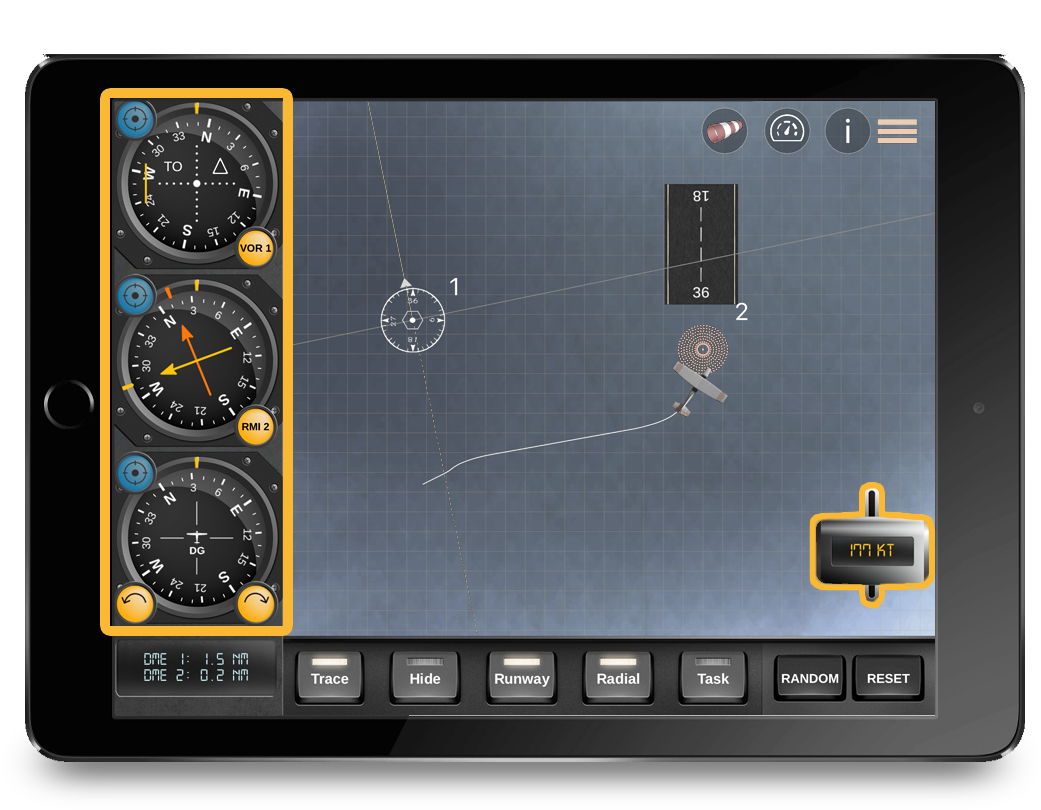 flygo pilot ifr trainer all in 1 app instruments plane aircraft pilot