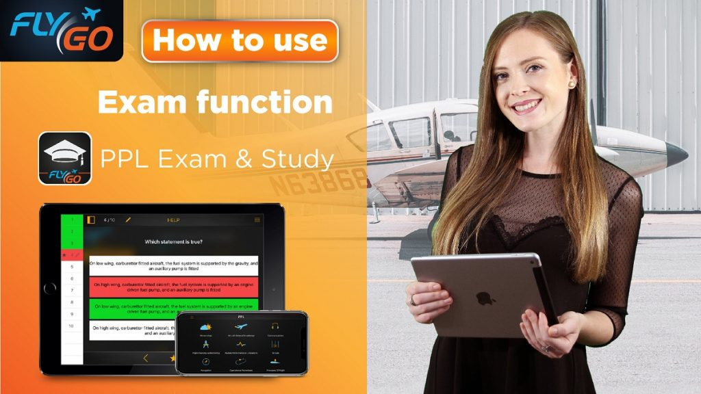flygo ppl exam study app flygo pilot practice introduction video education